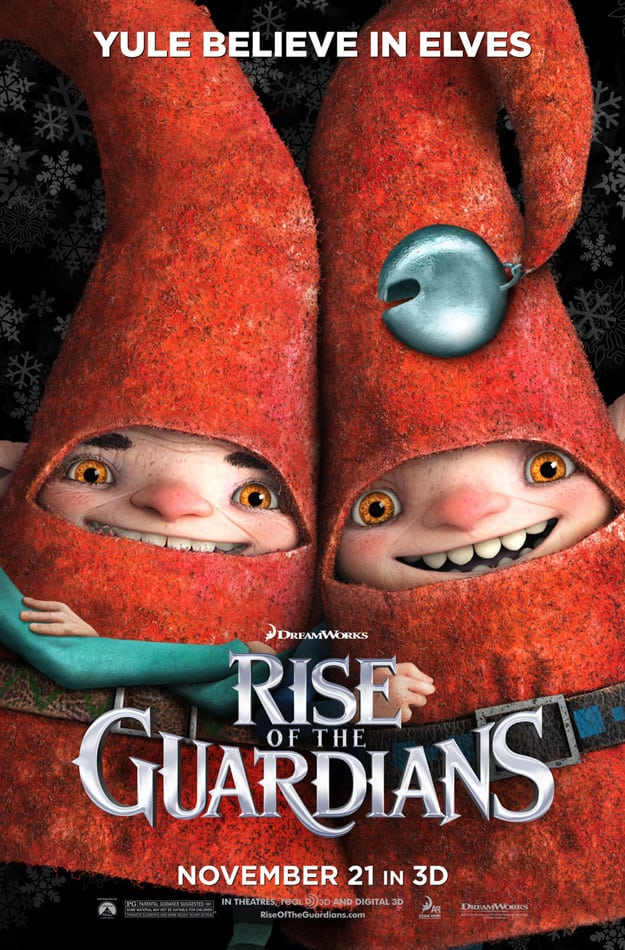 Rise of the Guardians Elves Poster