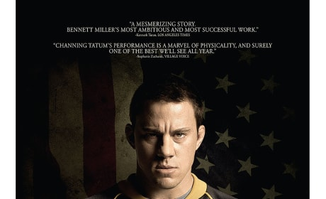 Foxcatcher: Channing Tatum Character Poster Revealed!