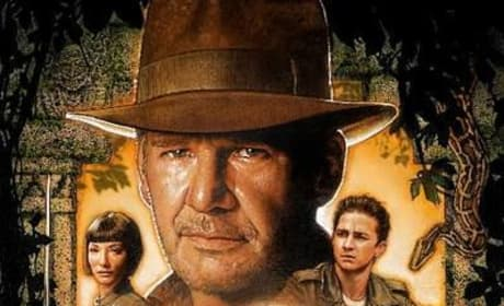 New Indiana Jones and the Kingdom of the Crystal Skull Movie Poster