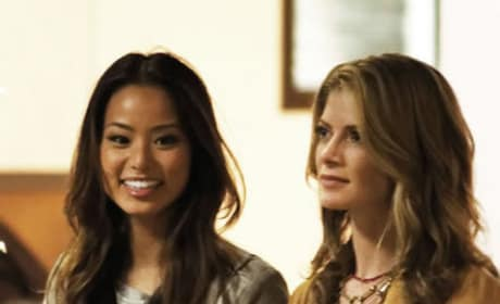 Jamie Chung Gillian Vigman The Hangover 3 Set Photo