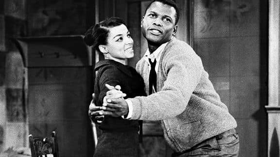A Raisin in the Sun Ruby Dee Sidney Poitier