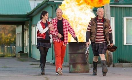 John Malkovich, Bruce Willis in Red 2