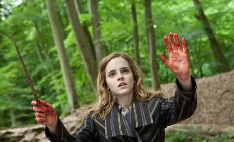 Hermoine Red-Handed