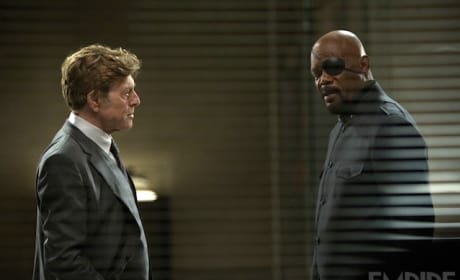 Captain America: Winter Soldier Robert Redford Samuel L. Jackson