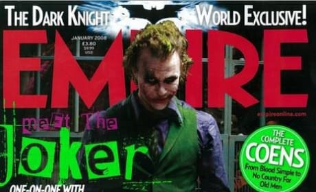 The Joker Graces Cover of Empire Magazine