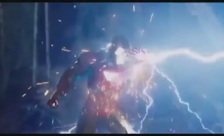 The Avengers Clip: Thor & Iron Man Face Off
