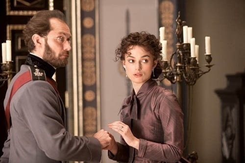 Jude Law Keira Knightley Anna Karenina