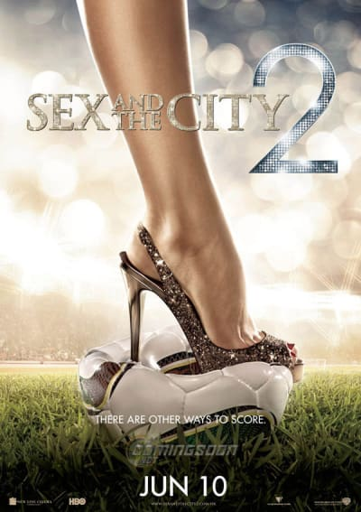 Sex and the City 2 World Cup Poster