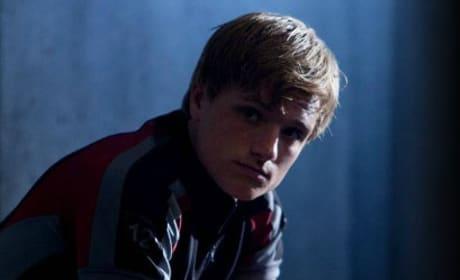 Josh Hutcherson is Peeta