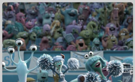 Monsters University Cheerleaders
