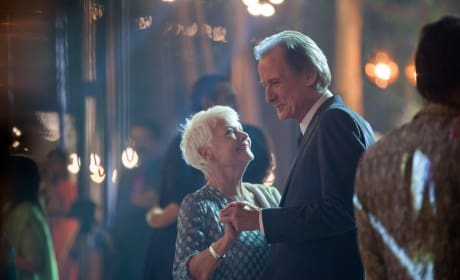 The Second Best Exotic Marigold Hotel Judi Dench Bill Nighy