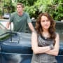 Veronica And Will Wait at the Car