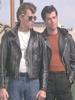 John Travolta and Jeff Conaway in Grease