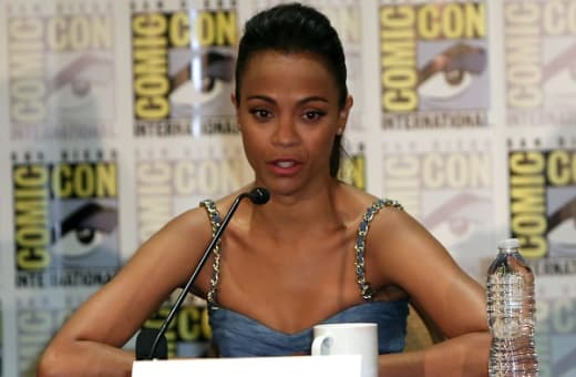 Guardians of the Galaxy Zoe Saldana Comic-Con