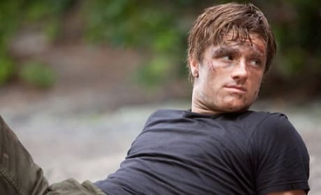 Josh Hutcherson in The Hunger Games