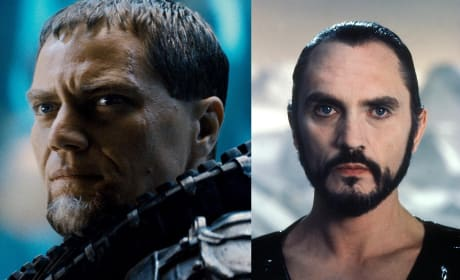 General Zod Terrence Stamp Michael Shannon
