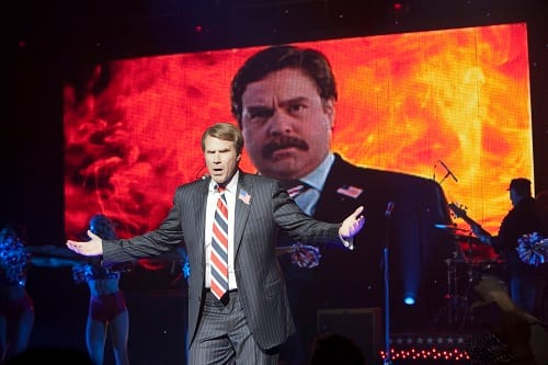 Will Ferrell and Zach Galifiankis in The Campaign