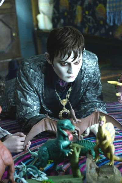 Dark Shadows Features Johnny Depp