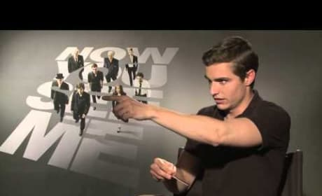 Now You See Me: Dave Franco Shows Off Using Cards as Weapon!