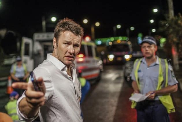 Joel Edgerton At the Scene