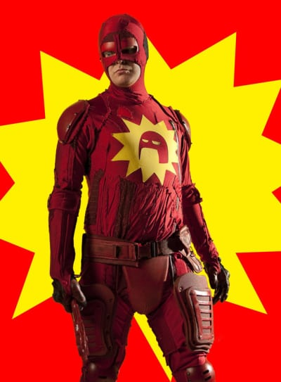 Rainn Wilson as Crimson Bolt!
