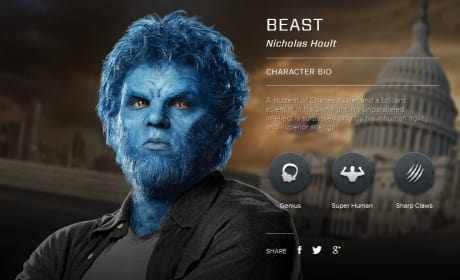 X-Men Days of Future Past Character Bio Banners: Meet the Mutants!