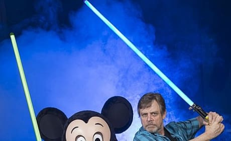 Mark Hamill Disney World Star Wars Weekend Photo