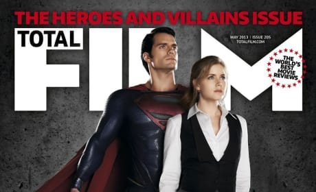 Man of Steel Total Film Cover: Introducing Lois Lane