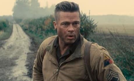Brad Pitt Fury Photo