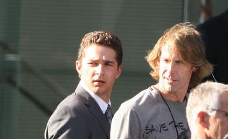 New Set Photos from Transformers 3 Feature Rosie Huntington-Whiteley and Shia LaBeouf!