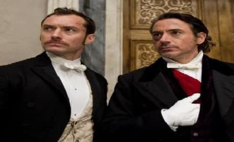 New TV Spot, Three New Clips from Sherlock Holmes: A Game of Shadows Released