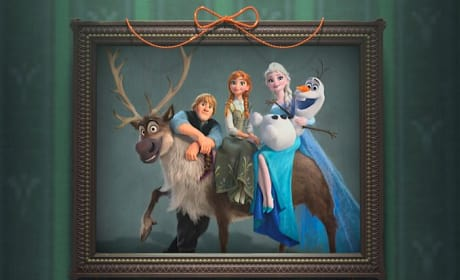 Frozen Fever Family Portrait