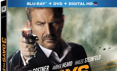 3 Days to Kill DVD