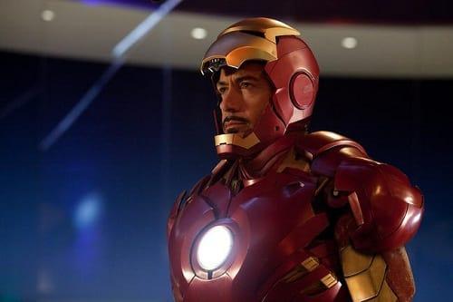 Robert Downey is Iron Man