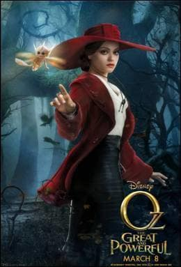 Oz The Great and Powerful Mila Kunis Poster