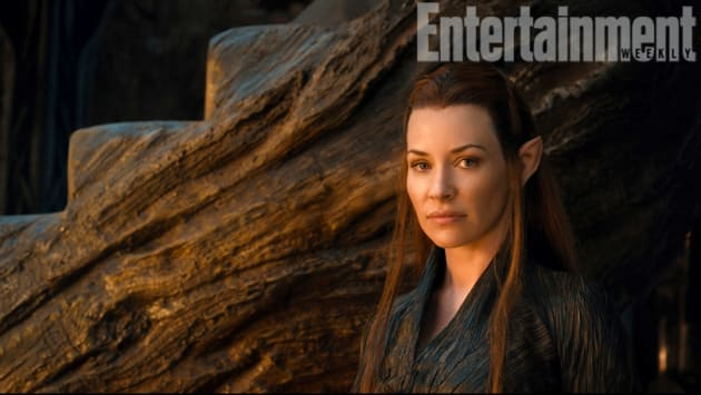 Evangeline Lilly Tauriel The Hobbit The Desolation of Smaug
