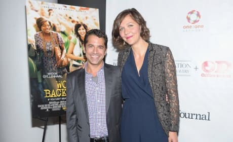 David Barnz and Maggie Gyllenhaal Picture