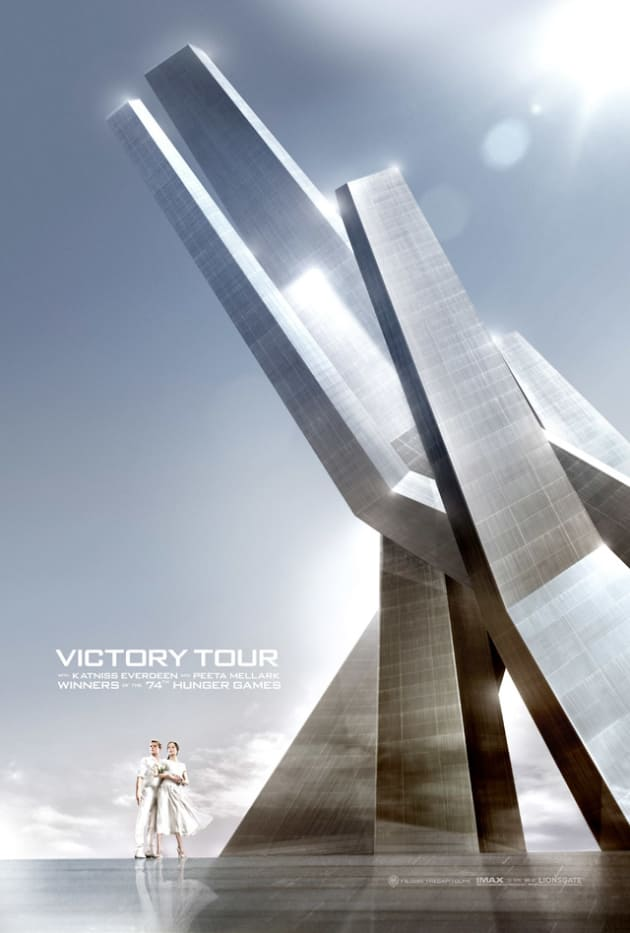 Catching Fire Victory Tour Poster