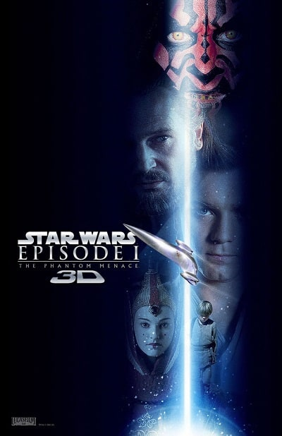 Star Wars: The Phantom Menace 3D Poster