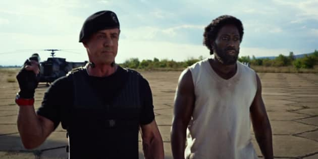 Wesley Snipes Sylvester Stallone The Expendables 3