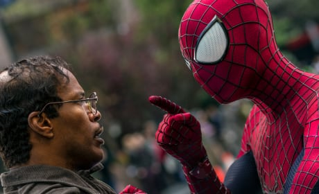 The Amazing Spider-Man 2 Photos: Spidey Lectures Jamie Foxx