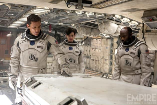 Matthew McConaughey Anne Hathaway Interstellar