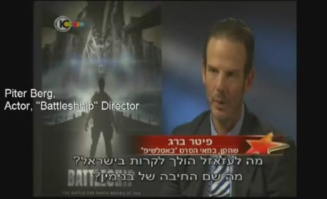 "Battleship Director Peter Berg's Awkward Israeli Interview: ""Join the Army, Motherf&%#@r"""