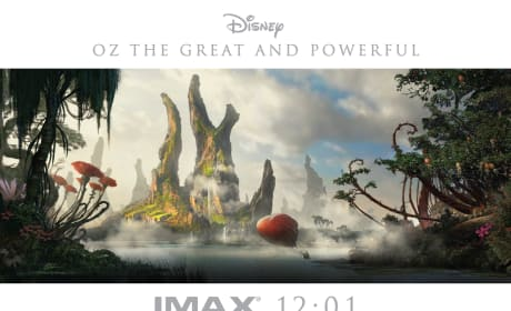 Oz the Great and Powerful Poster Promotes Midnight IMAX Screening