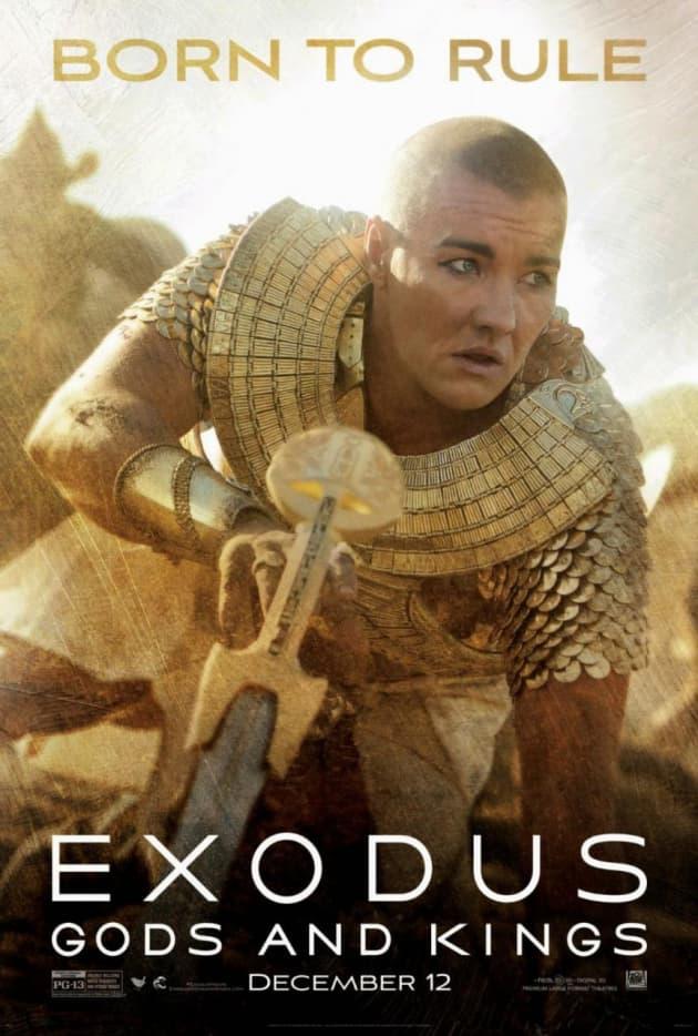 Exodus Gods and Kings Joel Edgerton Character Poster