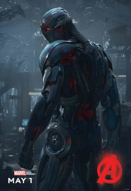 Ultron Poster Premieres!