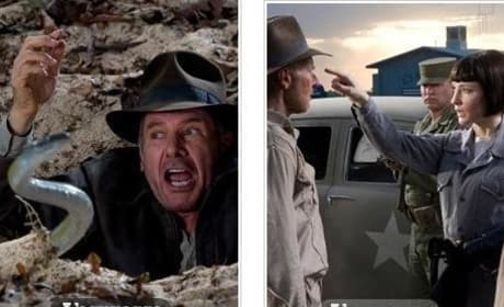 New Indiana Jones and the Kingdom of the Crystal Skull Photos