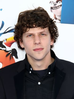 Jesse Eisenberg At Rio Premiere