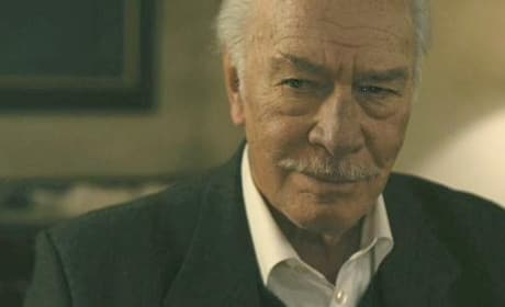 Dragon Tattoo Exclusive: Legend Christopher Plummer Visits Movie Fanatic