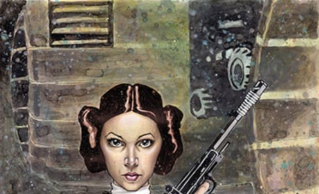 Star Wars Poster: Leia